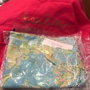 Lilly Pulitzer Murfee Scarf New With Tags